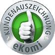Kundenauszeichnung eKomi