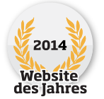 Website des Jahres 2014